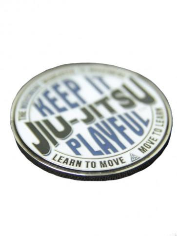 Gracie Jiu Jitsu Keep it Playfull Coin