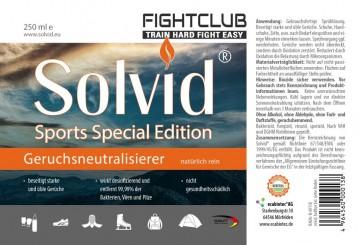 Fightclub Desinfektionsspray Geruchskiller