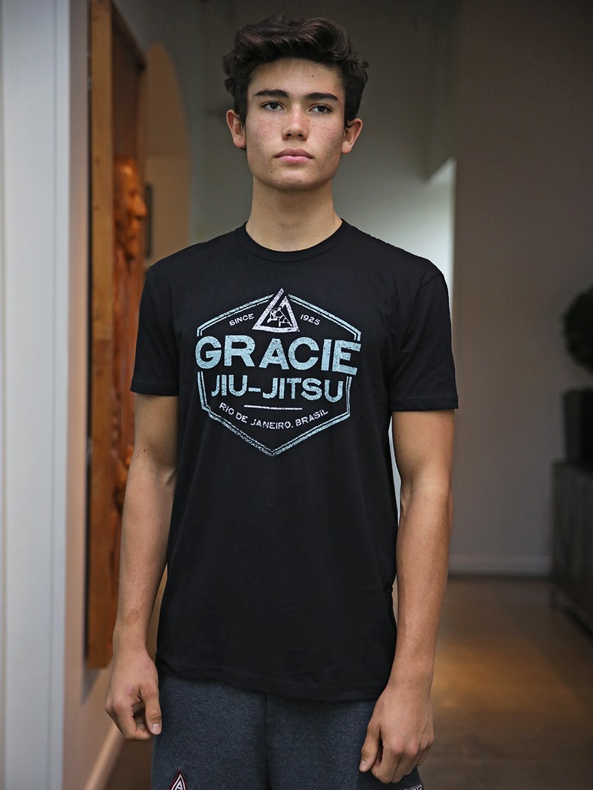 Gracie Jiu Jitsu T-Shirt Grove