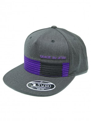 Gracie Jiu Jitsu Rank Hat Purple