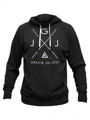 Gracie Jiu Jitsu Hoody Crossover